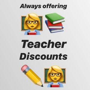 Other - Teacher Discounts